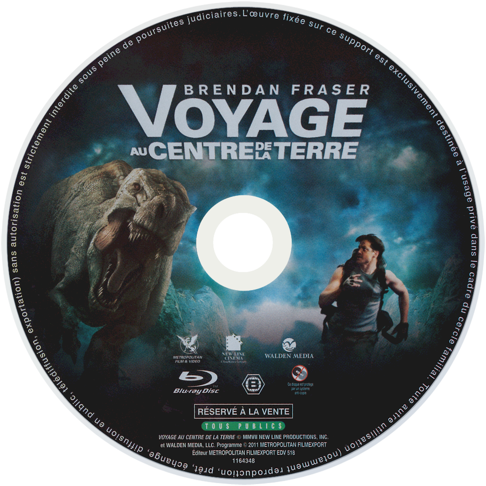Movie journey to the center