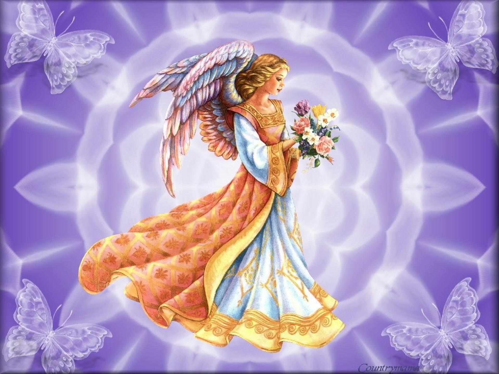 Божественная девушка открытка