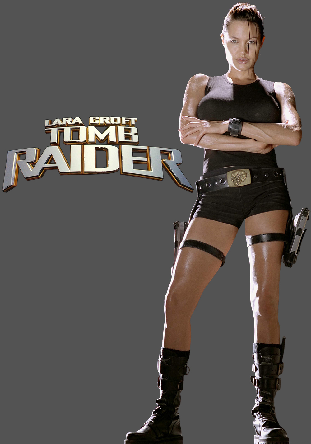Lara Croft Tomb Raider Movie Poster Id 105783 Image Abyss