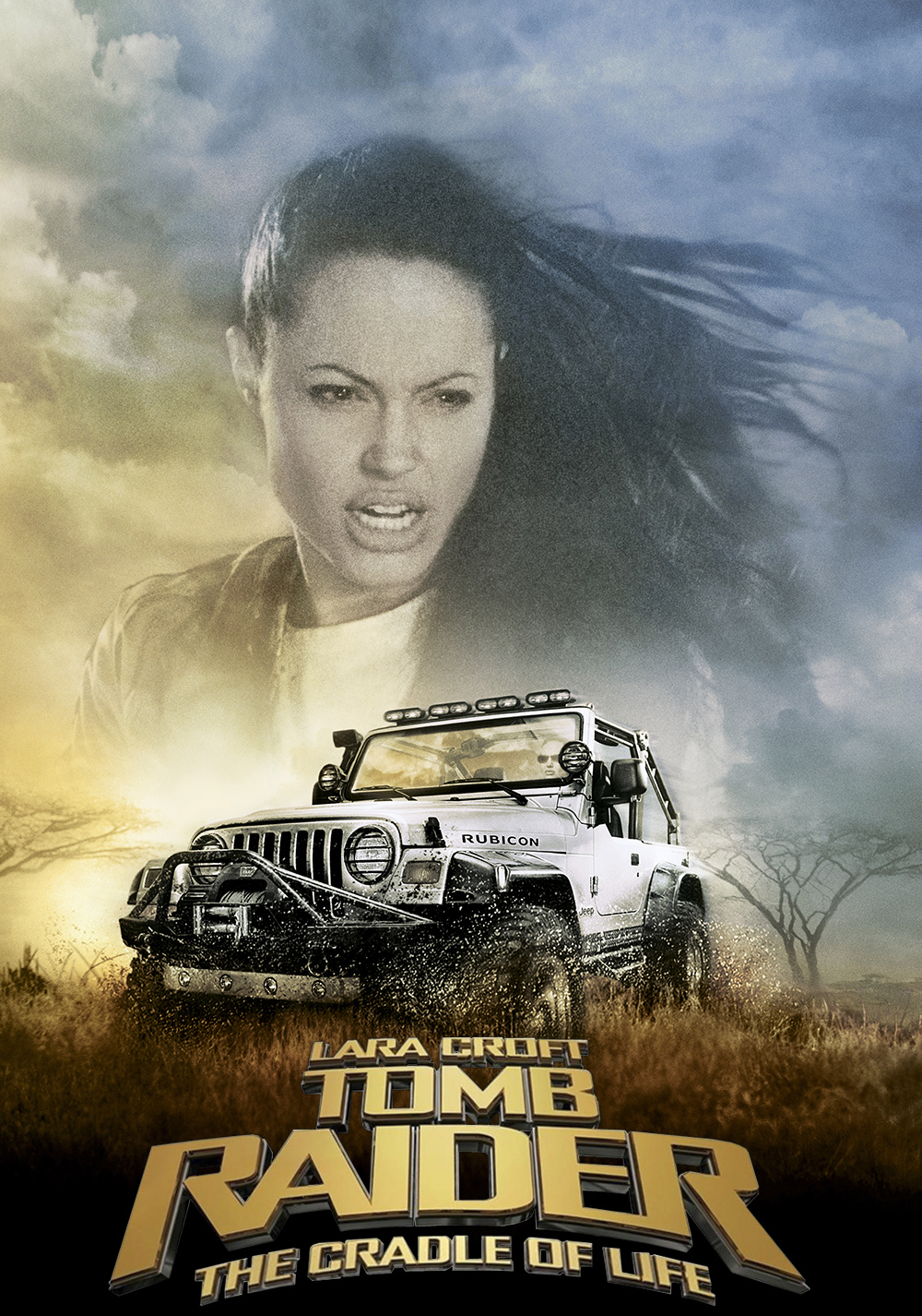 Lara Croft Tomb Raider The Cradle Of Life Movie Poster Id