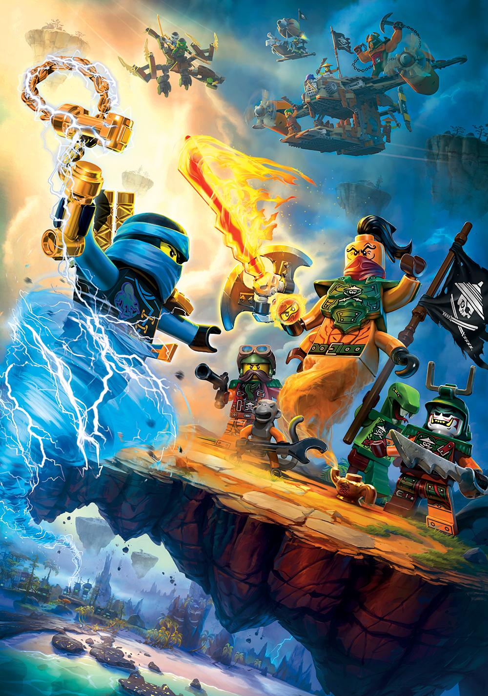 Lego Ninjago: Masters of Spinjitzu Movie Poster - ID ...