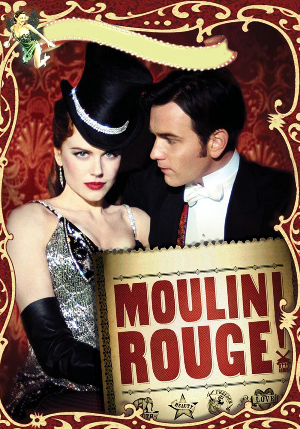 Amazoncom Moulin Rouge! Widescreen Edition Nicole