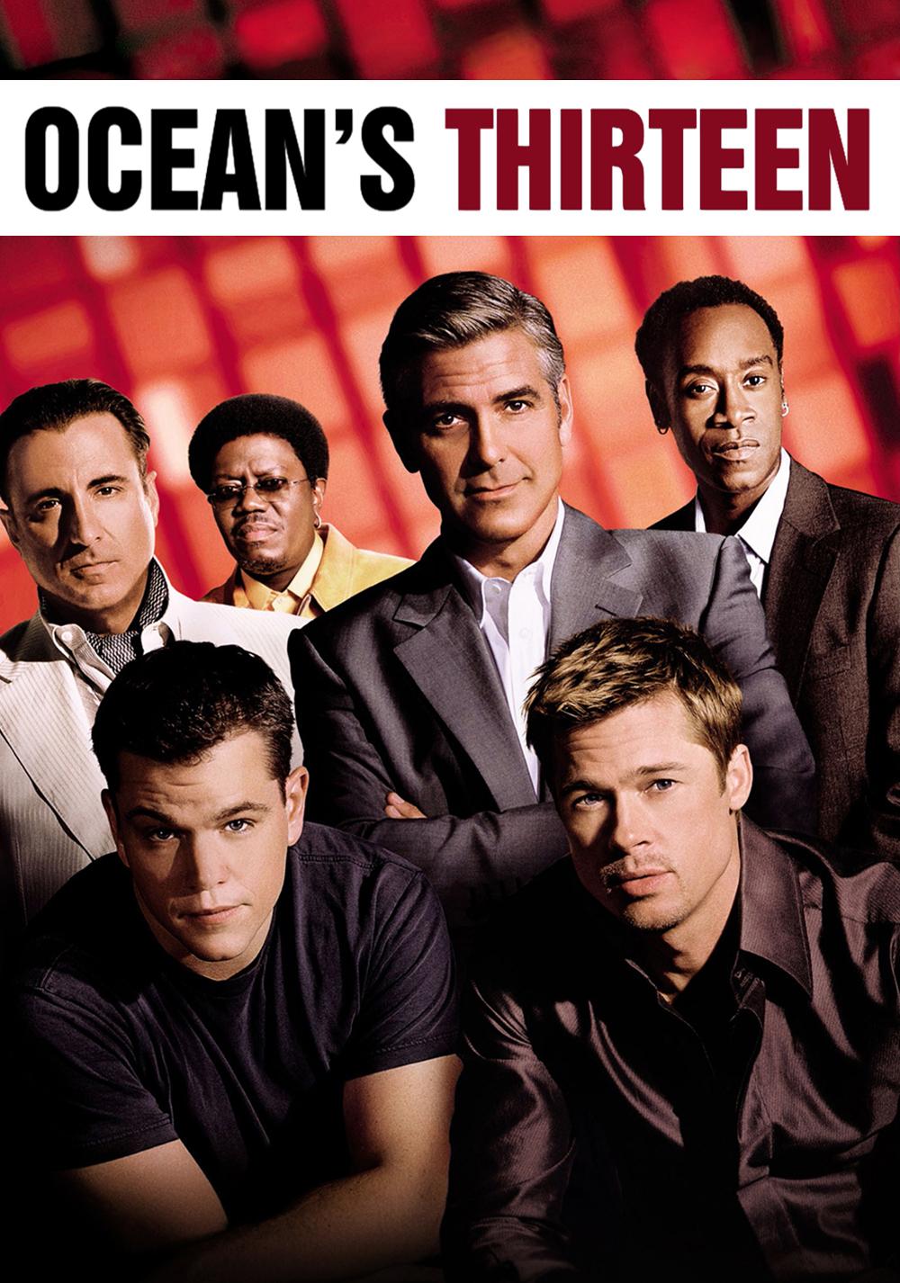 Ocean's thirteen movie poster wallpaper