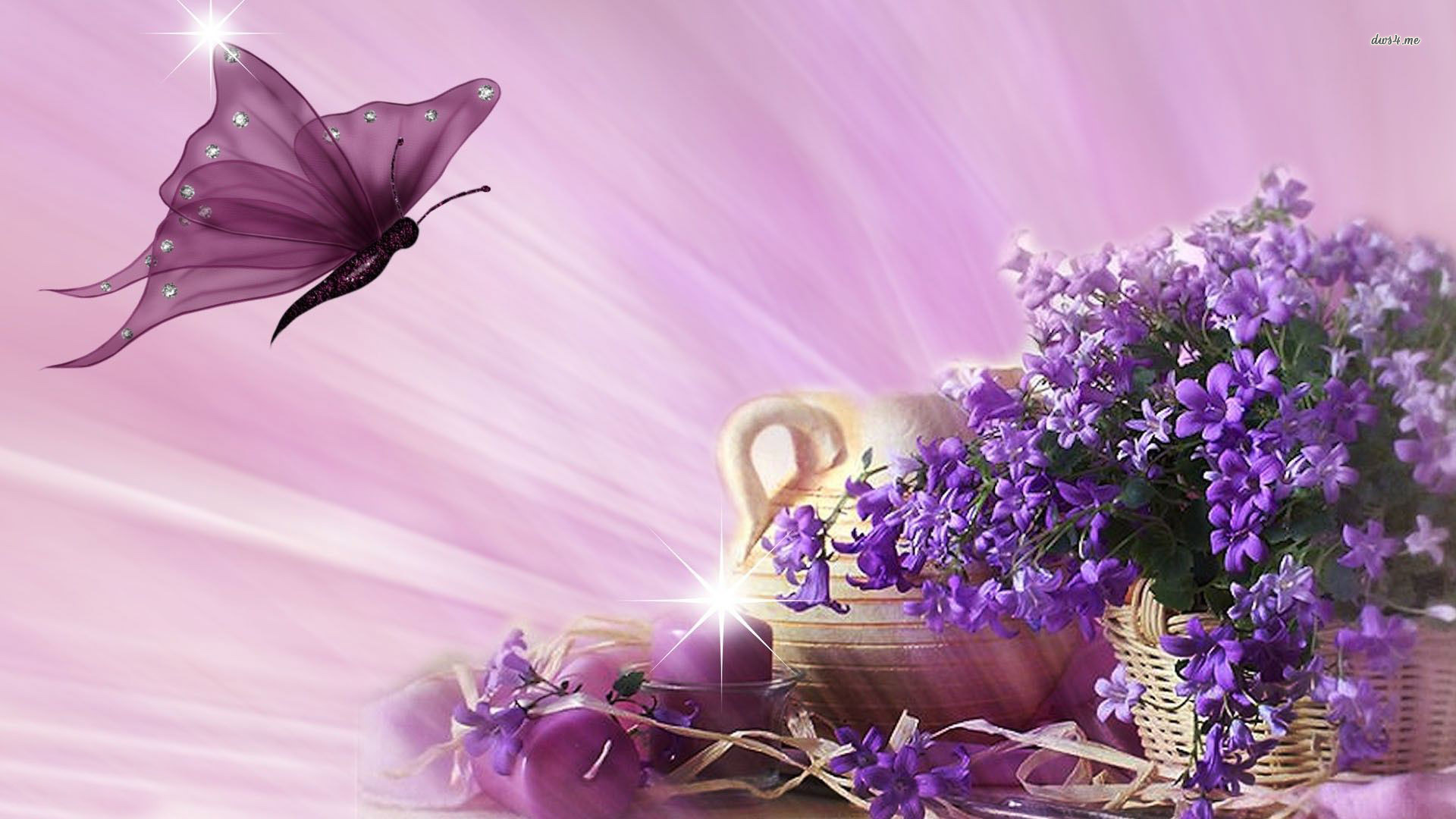 Lilacs and purple butterfly image id 11515 image abyss for Lilac butterfly wallpaper