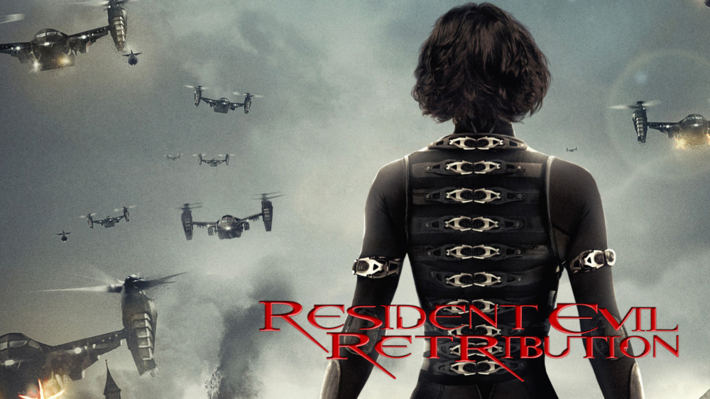 Resident evil retribution movie wallpaper
