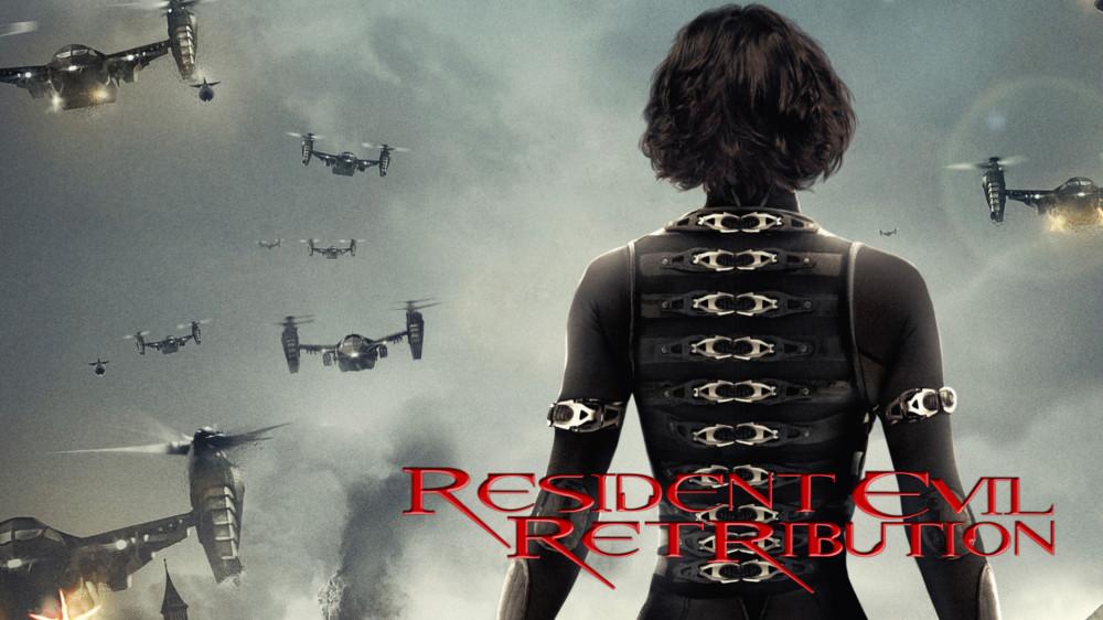 Resident evil retribution movie wallpaper