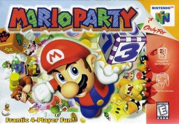 Mario Party High Resolution Box Art
