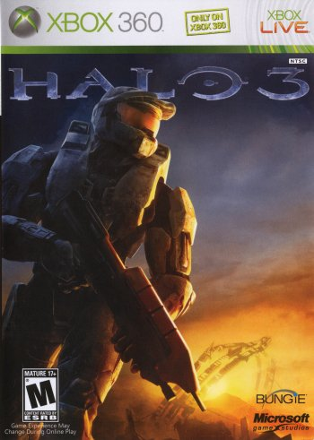 Halo 3 High Resolution Box Art
