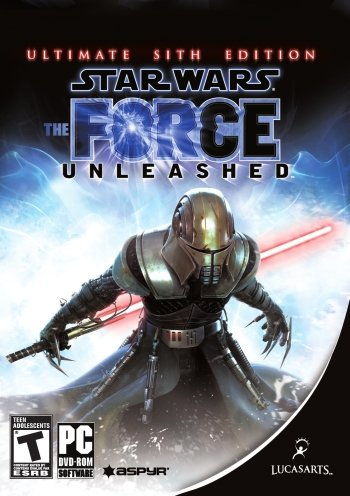 Star Wars: The Force Unleashed High Resolution Box Art
