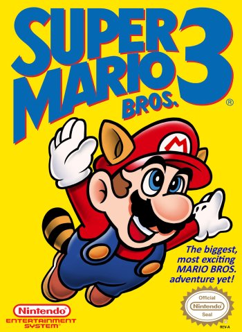 Super Mario Bros. 3 High Resolution Box Art