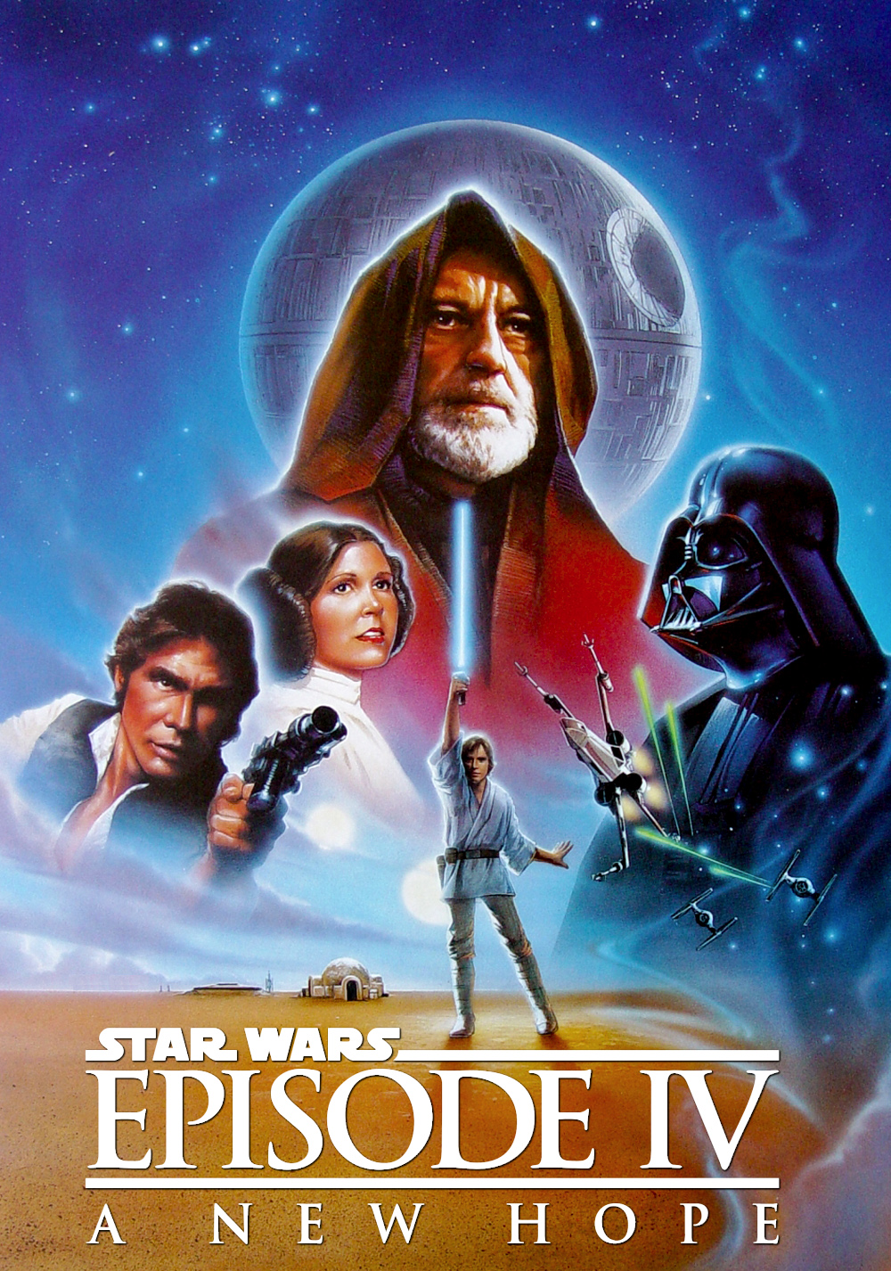 Star Wars Episode Iv A New Hope Movie Poster Id 125225 Image Abyss