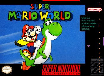 Super Mario World High Resolution Box Art