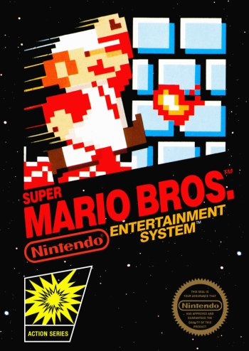 Super Mario Bros. High Resolution Box Art