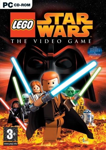 LEGO Star Wars: The Video Game High Resolution Box Art