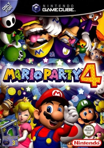 Mario Party 4 High Resolution Box Art