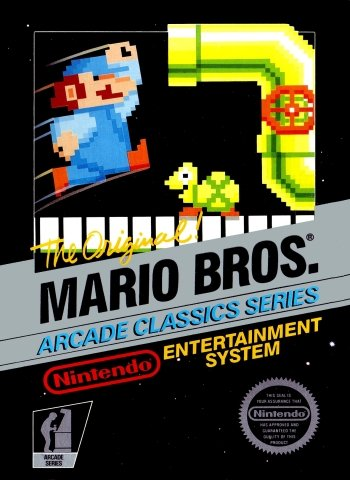 Mario Bros. High Resolution Box Art