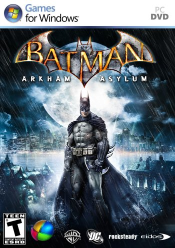 Batman: Arkham Asylum High Resolution Box Art