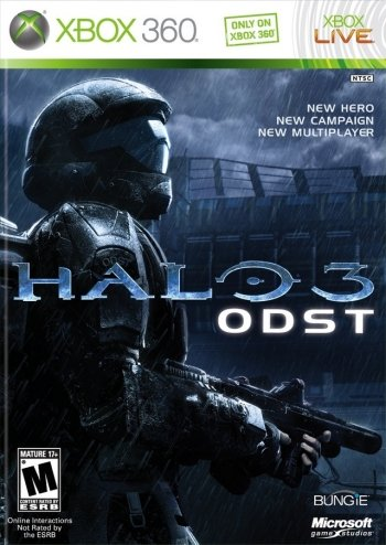 Halo 3: ODST High Resolution Box Art