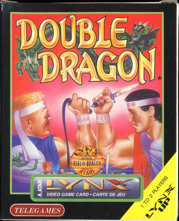 Double Dragon Video Game Box Art Id 13057 Image Abyss