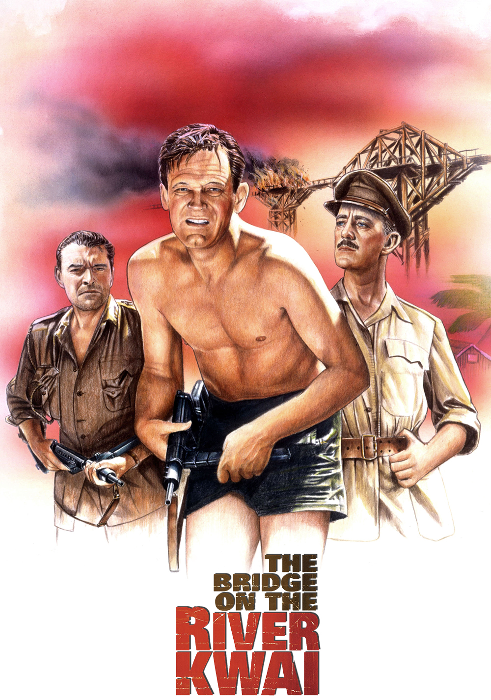 madness in the movie the bridge on the river kwai The bridge on the river kwai is mainly the story of a battle of wills between two men one, colonel saito (sessue hayakawa) is charge of a japanese pow camp and has orders to use the prisoners in his camp to complete a bridge over the kwai at any cost.
