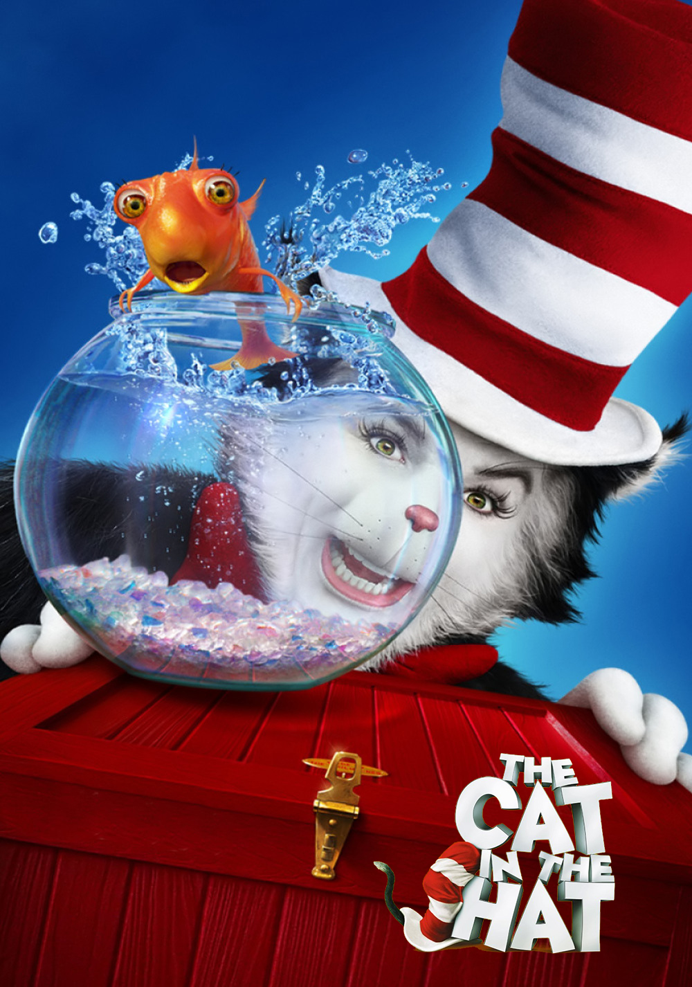 cat in the hat movie - HD 1000×1426