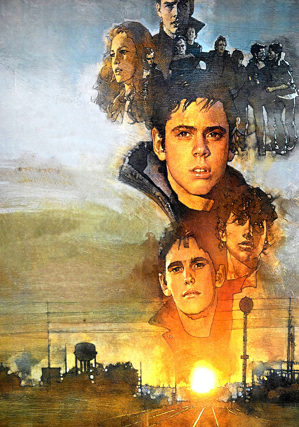 a study on greasers in the story the outsiders Title: the outsiders (hinton, se) level z quick summary: a story about ponyboy (who lives with his two older brothers, their parents died a year ago) and his  the outsiders by se hinton class discussions and group activities.