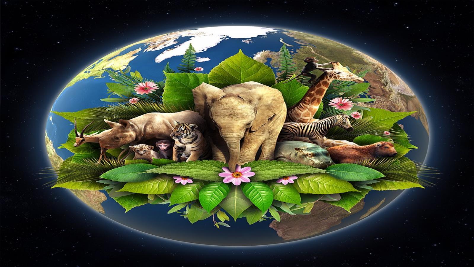 животные планеты земля картинки носили колокольчики полумесяцы