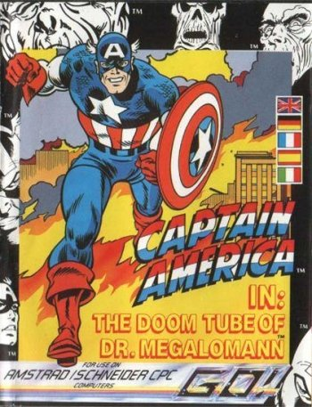 Captain America in: The Doom Tube of Dr. Megalomann