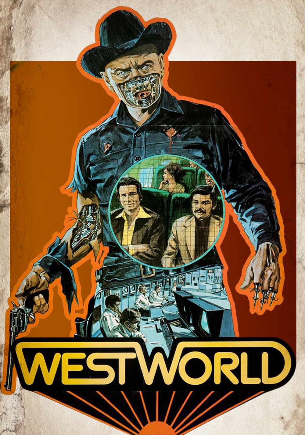 West world movie poster 30x40 for sale