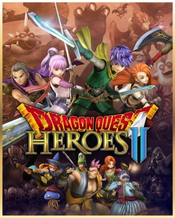 Dragon Quest Heroes II High Resolution Box Art
