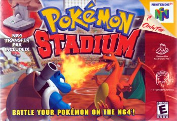 Pokémon Stadium High Resolution Box Art