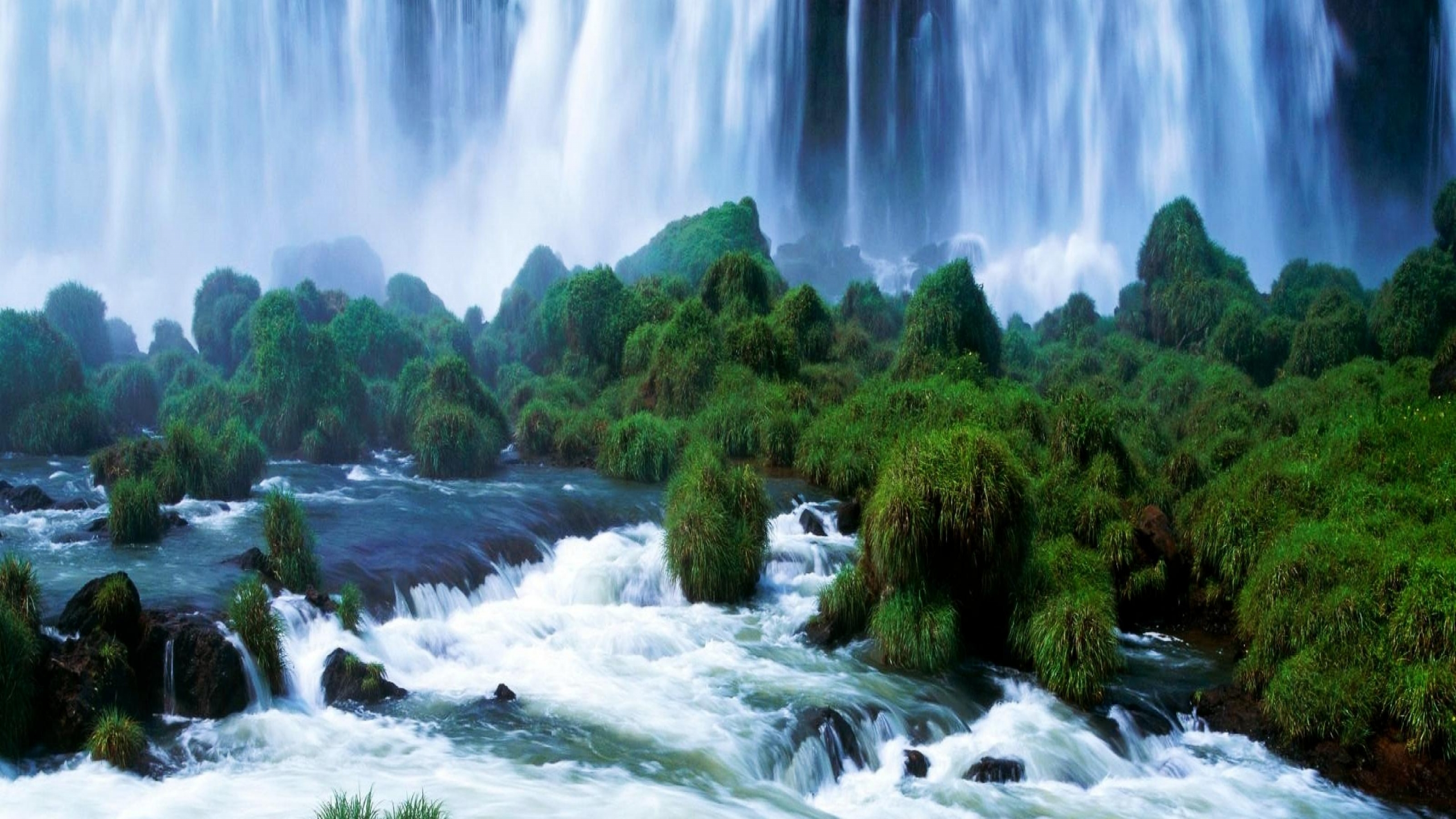Neture Wallpaper Hd Download: River And Waterfall Image