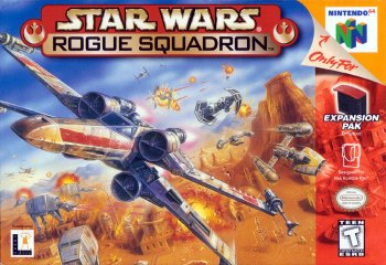 Star Wars: Rogue Squadron High Resolution Box Art