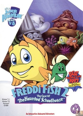 Freddi Fish 2: The Case of the Haunted School House