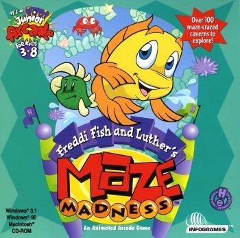 Freddi Fish & Luther's Maze Madness