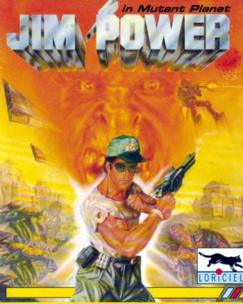 "Jim Power in ""Mutant Planet"""