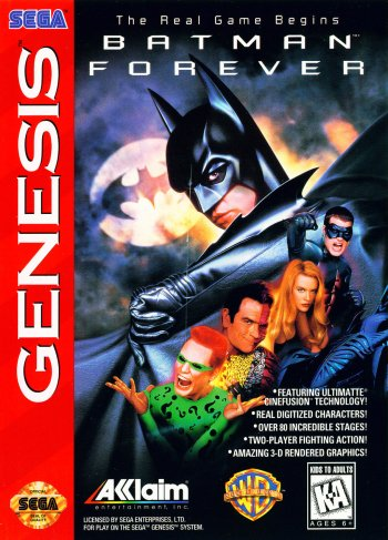 Batman Forever High Resolution Box Art