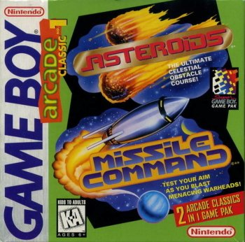 Arcade Classic 1: Asteroids/Missile Command