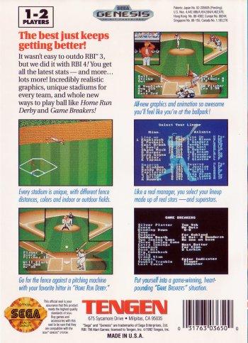 R.B.I. Baseball 4