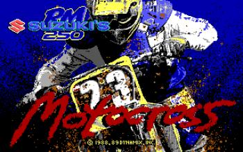 Suzuki's RM 250 Motocross