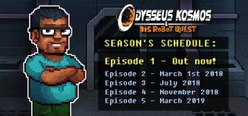 Odysseus Kosmos and his Robot Quest: Adventure Game