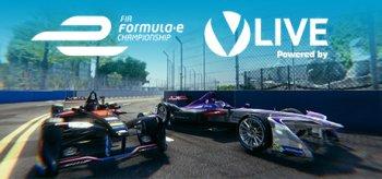 Formula E powered by Virtually Live