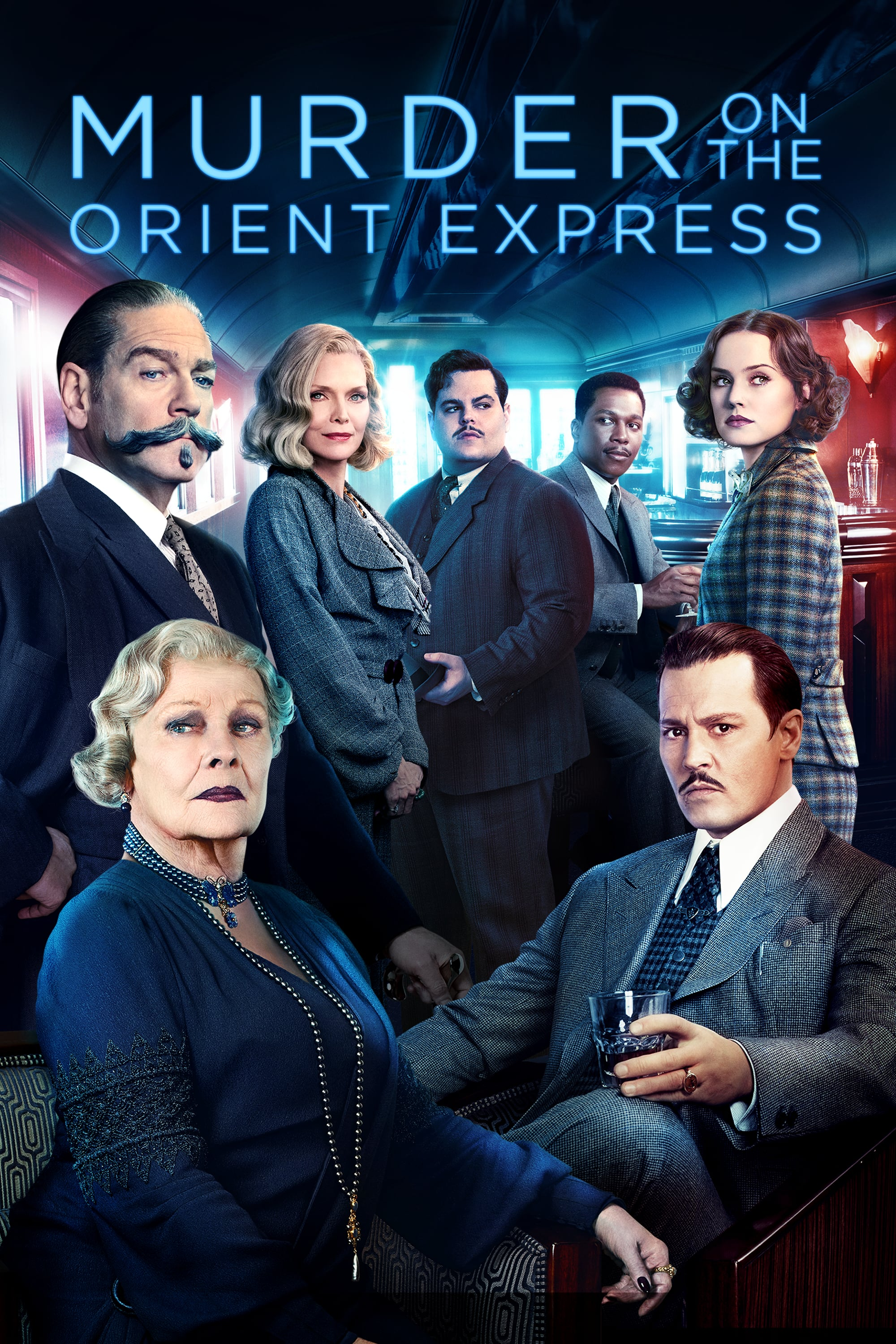 murder on the orient express Kenneth branagh's take on agatha christie's eccentric detective is a keeper, though his persona proves more entertaining than the mystery.