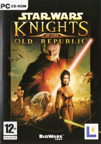 Star Wars: Knights of the Old Republic High Resolution Box Art