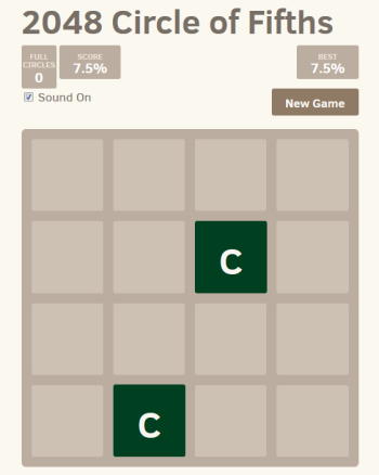 2048 Infinite – The Circle of Fifths
