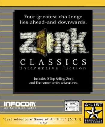 Zork Classics: Interactive Fiction
