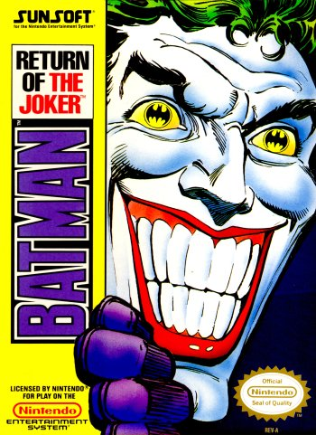 Batman: Return of the Joker High Resolution Box Art