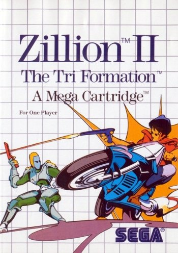 Zillion II: Tri Formation