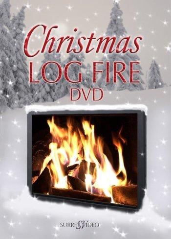 Christmas Log Fire