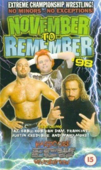 ECW November to Remember '98